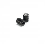 Yamaha Aluminium Valve Cap BLACK 90338-W1018-BL