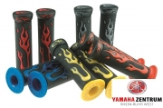 STR8 Grips FLAME black / blue STR-063.04/BL