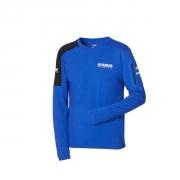 Yamaha Paddock Blue Langarm-T-Shirt für Herren B20-FT112-E1