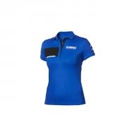 Yamaha Paddock Blue Pique-Polo-Shirt für Damen B20-FT209-E1