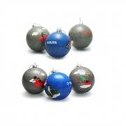Yamaha Weihnachtsbaum-Kugeln im 6er Pack N20-TX009-W3-00