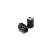 Yamaha NMAX Aluminium Valve Cap BLACK 90338-W1016-BL