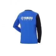 Yamaha Paddock Blue Racing-Langarm-Shirt für Herren B18-FT112-E1